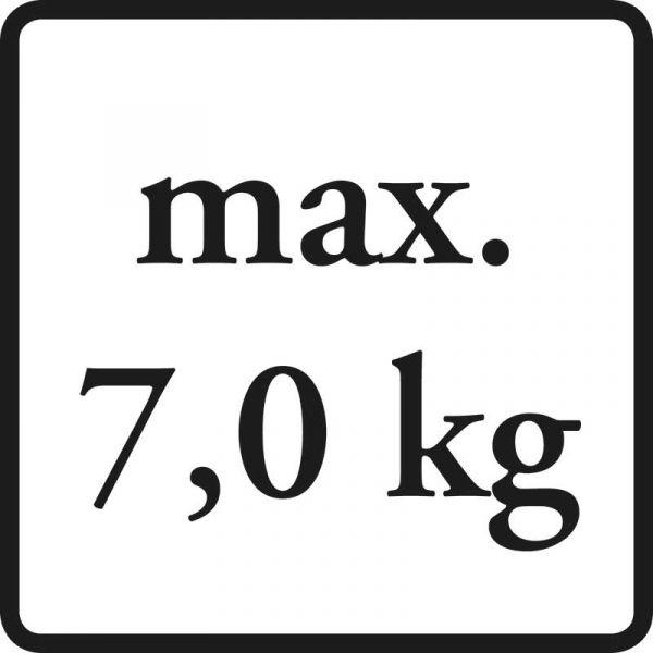 bis max. 7 kg belastbar