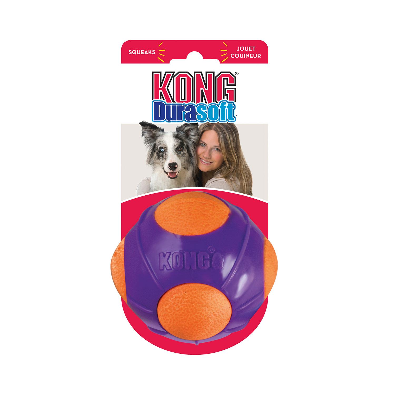 Hundespielzeug Kong DuraSoft Ball