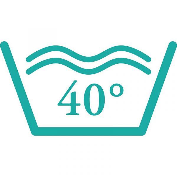 bei 40°C waschbar