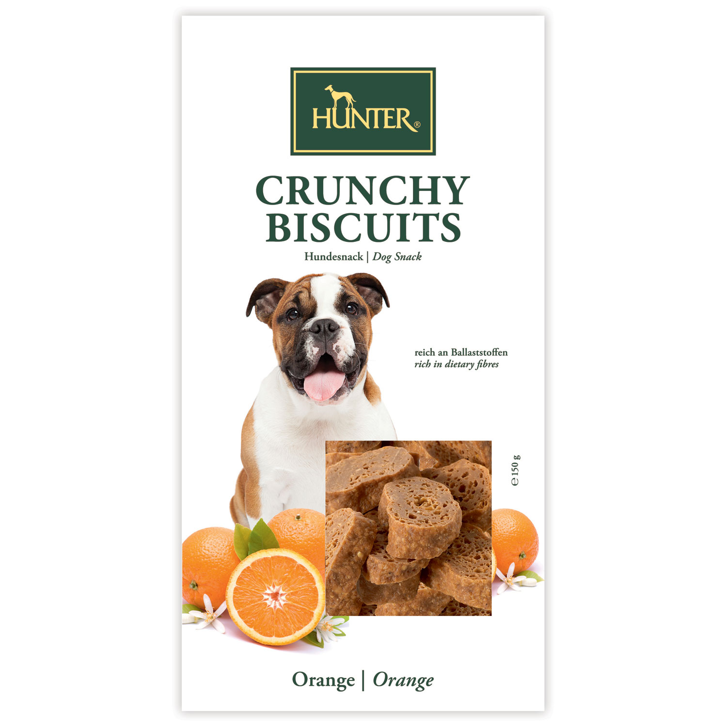 Hundesnack Crunchy Biscuits Apple