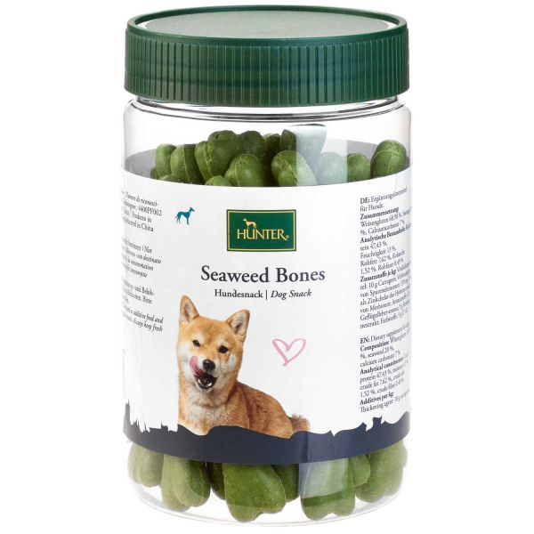Hundesnack Seaweed Bone