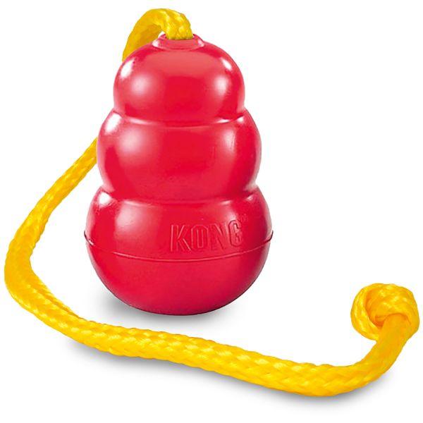 Hundespielzeug KONG® Classic mit Tau