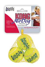 Hundespielzeug Kong AirDog Squeakair Balls, M