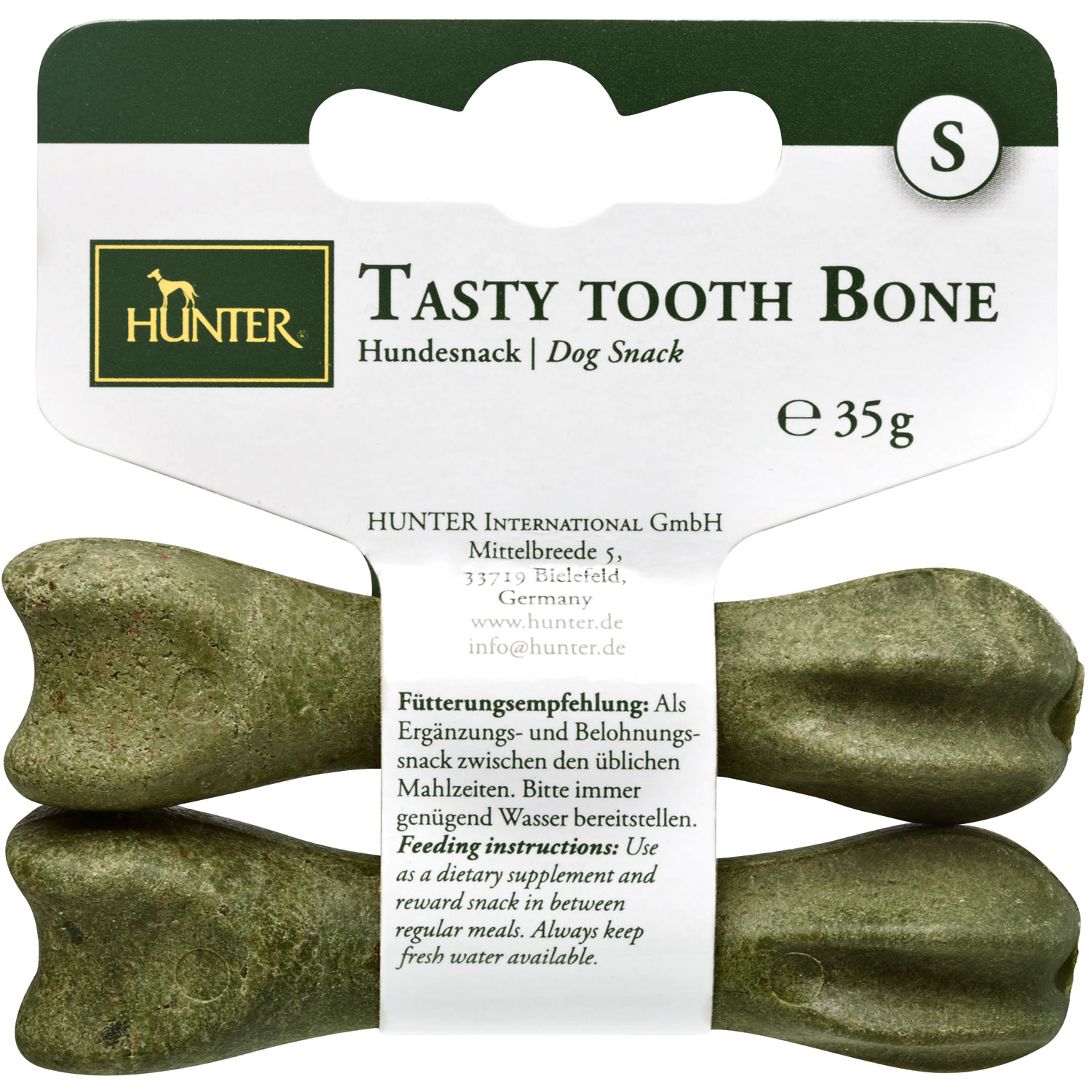 Hundesnack  Tasty Tooth Bone